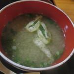 和食 斉とう - 味噌汁