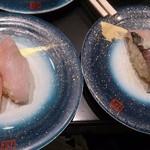 もり一 船橋南口店 - 左はおじさんというお魚。