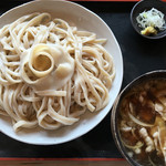 55003959 - 肉汁うどん・大盛り(700g)