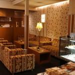 ラ・グランターブル ドゥ キタムラ - 店内:待合室