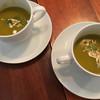 ブレカフェ・ブラッセリィ - 料理写真:ランチのスープ