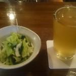 55009092 - ビール+野沢菜ワサビ