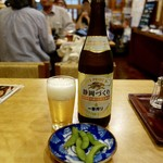 金時 - [2016/07]ビンビール・中瓶(520円)