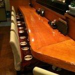 海鮮居酒屋 一心 - カウンター席でゆるりとしたお時間をお過ごし下さい