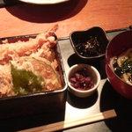 六右衛門 - 天丼とうどんセット ランチメニュー