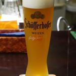 ドイツ・オーストリアビール専門店 ツークシュピッツェ - シェッファーホッファー ヘフェ ヴァイツェン