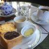 カフェ・ド・ギャラリーアダチ - 料理写真:ブレンドコーヒー500円とモーニング