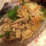 55012370 - 竹の子の炒め物。あまり美味しくなかったです。