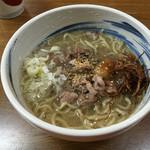 魚魚 - 豚骨ラーメン=600円