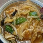 めん王  - めん王麺。(半麺)