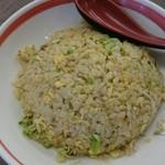 めん王  - セットの炒飯。