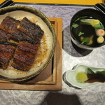 まるや本店 - 上うな丼(3,370円)