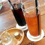 カフェ フクバコ - ランチセットのドリンク