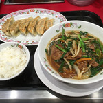 餃子の王将 - ◉2016/08/19/FRI #179 @日替りラーメンランチ/スタミナラーメン ¥780
