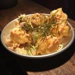 のりさん - もち揚げめんたいマヨ@380円 ウマー‼️きっと皆んなが大好きな味( *´艸`)✨