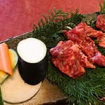 モランボン - 炭火焼セットのお肉