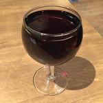 ピッツァナポレターノカフェ - 樽ワイン赤 313円(税込)