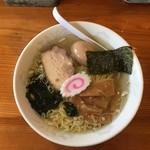 函館ラーメン 照和 - 塩ラーメン+煮玉子