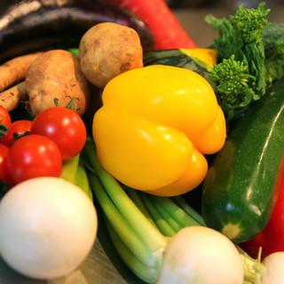 同級生の農家さんから直仕入れした新鮮野菜