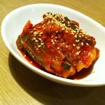 ホルモン武蔵 - 白菜キムチ