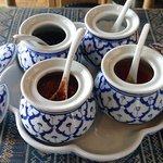 55017395 - THAI RESTAURANT PENTHAI @南林間 テーブルユースのタイの食卓基本4大調味料