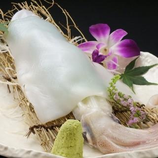 日本一美味しいと言われる壱岐イカ