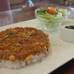 HAPPY LIFE CAFE - 料理写真:ハッピードライカレーランチ