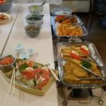 レストラン 函岳 - ビュッフェの料理