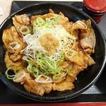 55021715 - お肉たっぷり豚丼(630円)