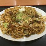 長田本庄軒 - 料理写真:ぼっかけとろ玉焼きそば(大)です