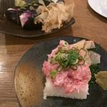 Uogashisakabaekimaehamaken - ぶっかけネギトロ寿司