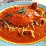 ジョイア・ミーア  - 渡り蟹のトマトスパゲッティ(2016年8月)