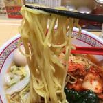 どうとんぼり神座 - 冷たい麺はツルツルシコシコ〜