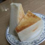 芳味亭 - 芳味亭(東京都中央区日本橋人形町)トースト 300円