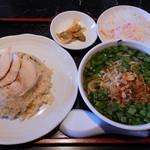 鉄尤山 - 料理写真:ランチのチャーハンセットA
