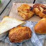 フゥ・ド・ボワ - 購入したパン(一部)(2016年8月)
