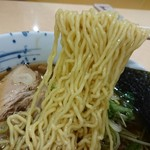 55024363 - 道神ラーメン 麺リフト