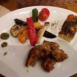 ターブルドート - チキンのハニーマスタード焼き