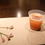 Gen Yamamoto - 北海道産トマトと純米大吟醸「美丈夫」