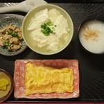 とうふの比嘉 - お年寄りゆし豆腐セット…税込350円