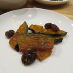 falo - おばんざい:インゲンのくたくた煮、カポナータ、かぼちゃのマリネ、小鯵のエスカベッシュ、豚のリエット4