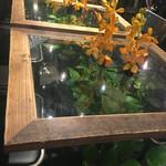 青山フラワーマーケット ティーハウス - テーブル 初訪問|2016/08/20(土)訪問