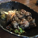 創作居酒屋 樹 - 地鶏もも肉のかご焼き