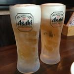 創作居酒屋 樹 - キンキンに冷えた生ビール