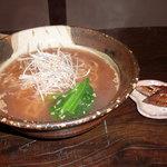 らうめん風 - 真鯛ラーメン+サンマ薫製