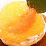 イタリアン・トマト カフェジュニア - 3種の蜜柑 他にメロンもあり
