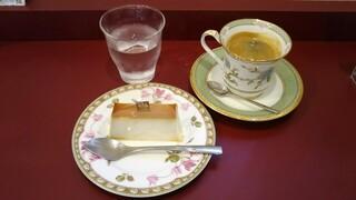 ミラノ ドルチェ トレ・スパーデ - ミラノプリン(プレーン)、コーヒー
