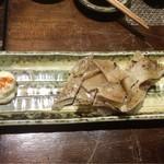 郷土料理・黒豚しゃぶ鍋・ぞうすい 八幡 - エイヒレ炙り