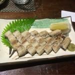 郷土料理・黒豚しゃぶ鍋・ぞうすい 八幡 - 鰻の白焼き