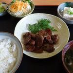 塩の里 - 鹿肉の焼肉定食